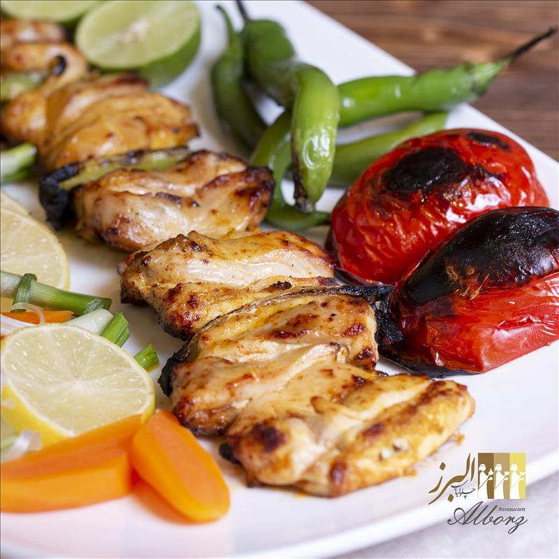 خوراک جوجه کباب یمنی مخصوص ممتاز(ران)