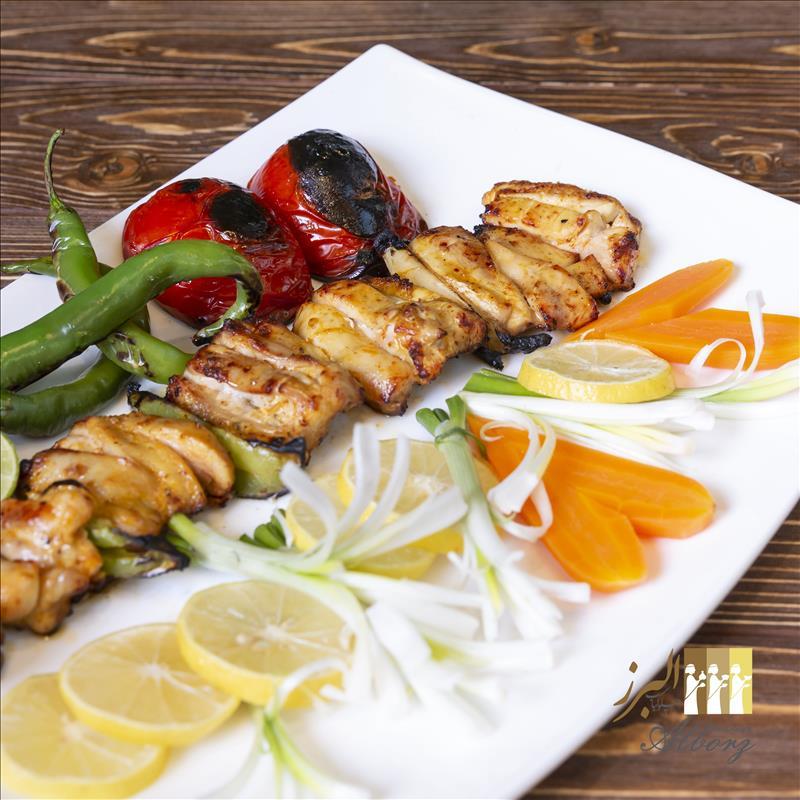 خوراک جوجه کباب یمنی مخصوص (سینه)